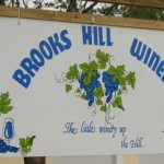 Brooks Hill sign